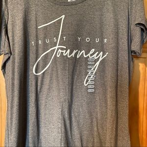 NWT Trust Your Journey T-Shirt